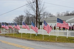 Front Flags